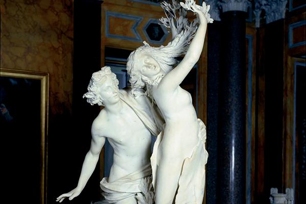 Gebart Gestione servizi Beni Culturali Galleria Borghese Apollo e Dafne Bernini