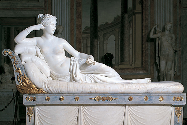 Gebart Gestione servizi Beni Culturali Galleria Borghese Paolina Borghese Canova