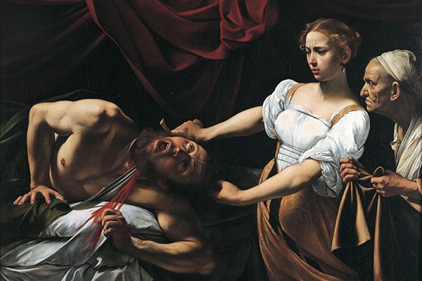 Gebart Gestione servizi Beni Culturali Galleria Nazionale Arte Antica di Palazzo Barberini Giuditta e Oloferne Caravaggio