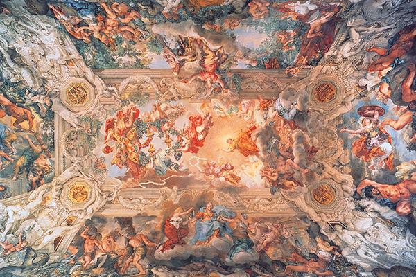 Gebart Gestione servizi Beni Culturali Galleria Nazionale Arte Antica di Palazzo Barberini Il trionfo della Divina Provvidenza Da Cortona