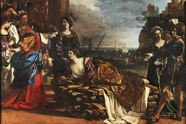 Gebart Gestione servizi Beni Culturali Galleria Spada La morte di Didone Guercino