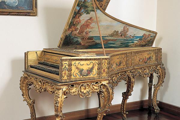 Gebart Gestione servizi Beni Culturali Museo Nazionale degli Strumenti Musicali Clavicembalo XVIII Secolo