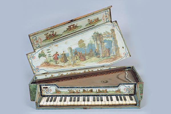 Gebart Gestione servizi Beni Culturali Museo Nazionale degli Strumenti Musicali Spinettino Birger