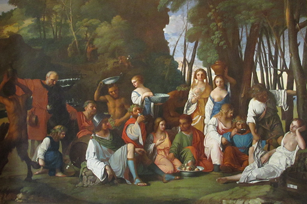 Gebart Gestione servizi Beni Culturali Museo Nazionale di Castel Sant Angelo Festino degli Dei Camuccini