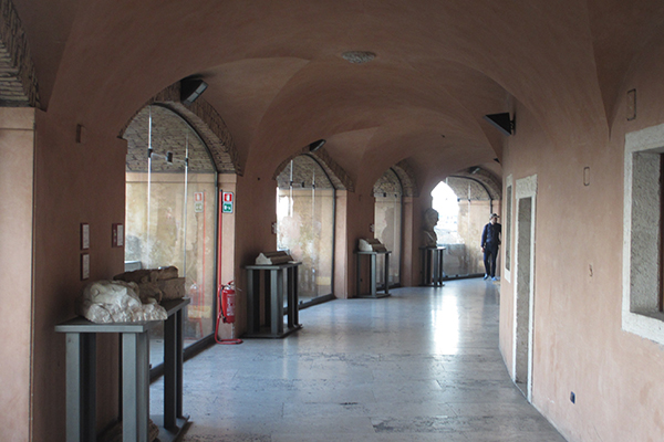 Gebart Gestione servizi Beni Culturali Museo Nazionale di Castel Sant Angelo Giretto coperto
