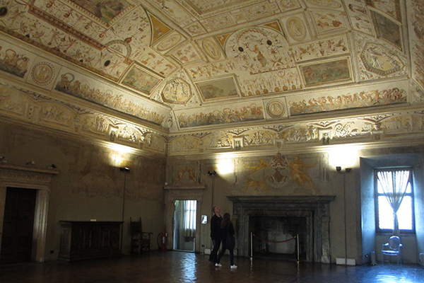 Gebart Gestione servizi Beni Culturali Museo Nazionale di Castel Sant Angelo Sala della Biblioteca