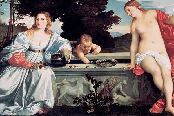 Gebart Gestione servizi Beni Culturali Galleria Borghese Amor Sacro e Amor Profano Tiziano