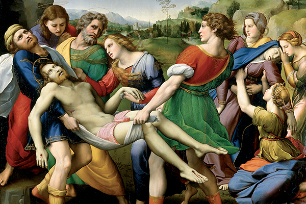 Gebart Gestione servizi Beni Culturali Galleria Borghese Deposizione Raffaello Sanzio