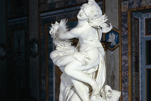 Gebart Gestione servizi Beni Culturali Galleria Borghese Il Ratto di Proserpina Bernini