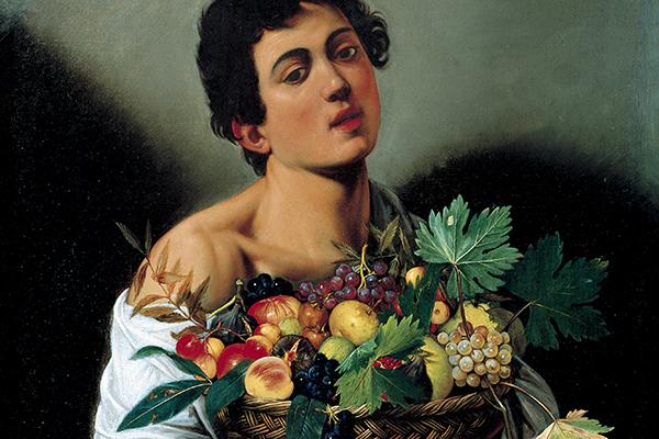 Gebart Gestione servizi Beni Culturali Galleria Borghese Ragazzo con il canestro di Frutta Caravaggio