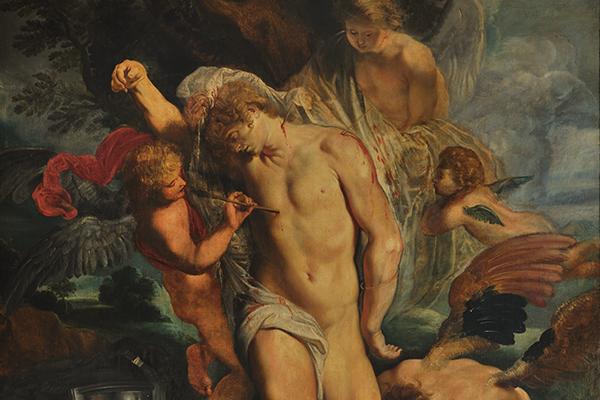 Gebart Gestione servizi Beni Culturali Galleria Nazionale Arte Antica di Palazzo Corsini San Sebastiano curato dagli angeli Rubens