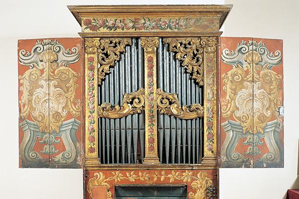 Gebart Gestione servizi Beni Culturali Museo Nazionale degli Strumenti Musicali Organo Napoletano XVII Secolo