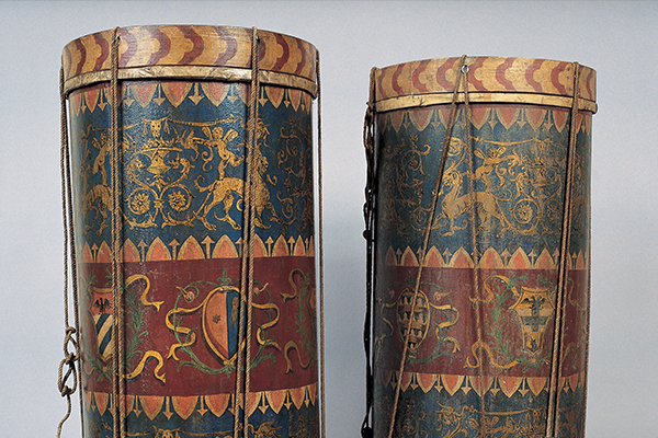 Gebart Gestione servizi Beni Culturali Museo Nazionale degli Strumenti Musicali Tamburi XVII XVIII