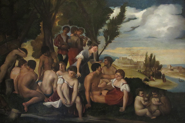 Gebart Gestione servizi Beni Culturali Museo Nazionale di Castel Sant Angelo Baccanale Dossi
