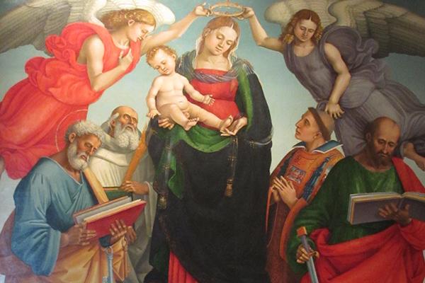 Gebart Gestione servizi Beni Culturali Museo Nazionale di Castel Sant Angelo Incoronazione della Vergine Signorelli