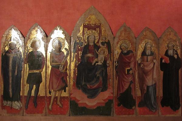 Gebart Gestione servizi Beni Culturali Museo Nazionale di Castel Sant Angelo Polittico degli Zavattari