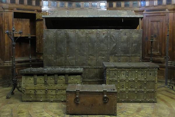 Gebart Gestione servizi Beni Culturali Museo Nazionale di Castel Sant Angelo Sala del Tesoro