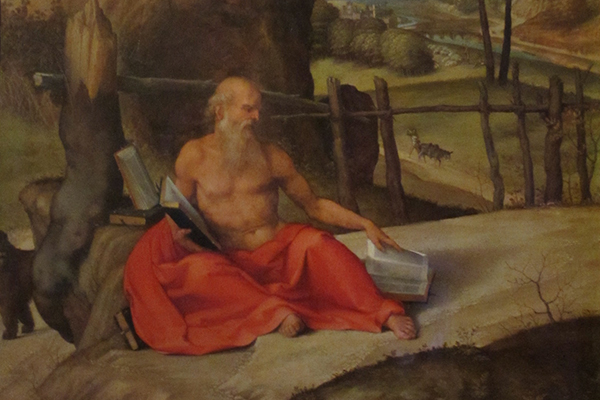 Gebart Gestione servizi Beni Culturali Museo Nazionale di Castel Sant Angelo San Girolamo in meditazione Lotto