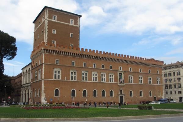 Gebart Gestione servizi Beni Culturali header Museo Nazionale del Palazzo di Venezia
