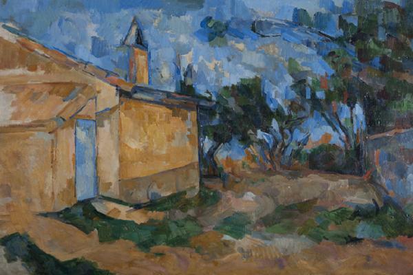 Cezanne Paul  Le cabanon de Jourdan inv. 8534 G5746 IdiniSITO